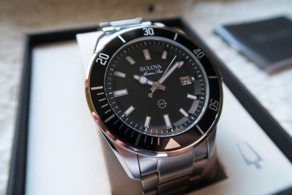 We love the Bulova Marine Star 98B203 Watch and finally got one ...