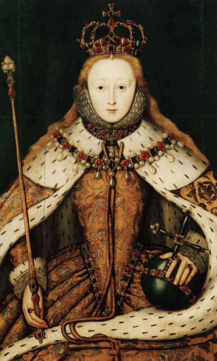 Elizabeth I of England (1533 1603) reigned 15581603