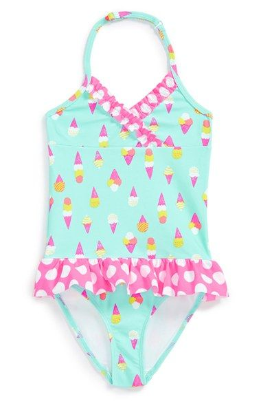 447062d9406 Tucker + Tate Ruffle One-Piece Swimsuit (Toddler Girls, Little Girls & Big  Girls) available at #Nordstrom