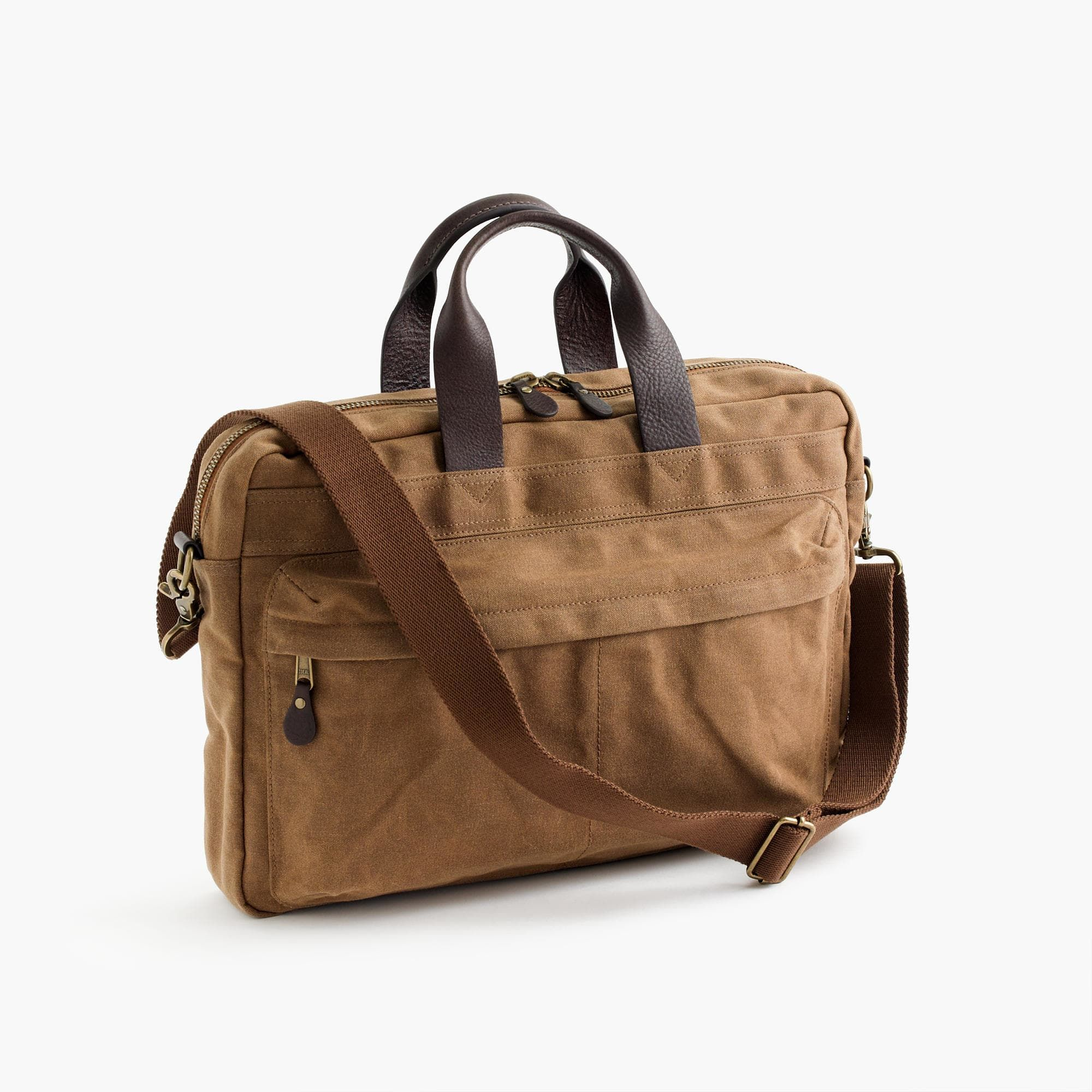 Shop the Abingdon Briefcase at J.Cew and see the entire selection of Men s  Accessories. Free Shipping Available. 4c215f9c82dce