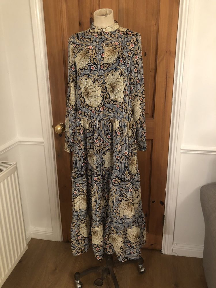 9556ae349e9d WILLIAM MORRIS & CO x H&M BNWT Patterned Maxi Dress Size 4 (32) #fashion # clothing #shoes #accessories #womensclothing #dresses (ebay link)