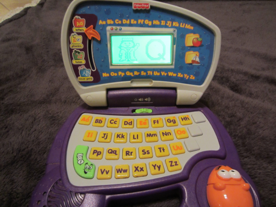 Fisher Price Fun 2 Learn Laptop Computer Mouse ABC Phonic