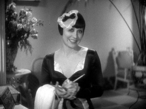 Mildred Dixon is at your service, as a maid of the 'Honeymoon Hotel', from 1933's Footlight Parade [trailer]
