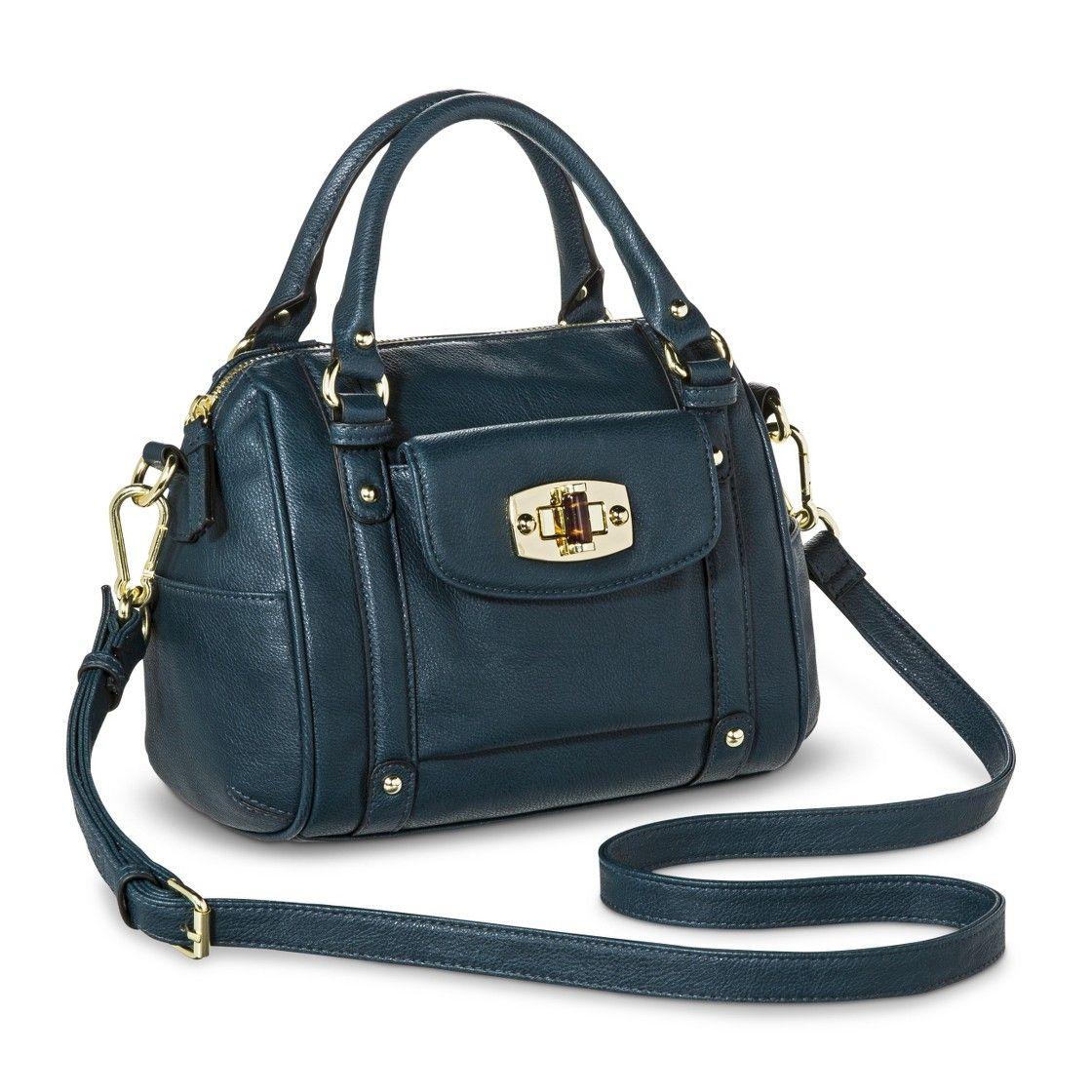 8a5ad6e08a Merona  Mini Satchel Handbag with Removable Crossbody Strap