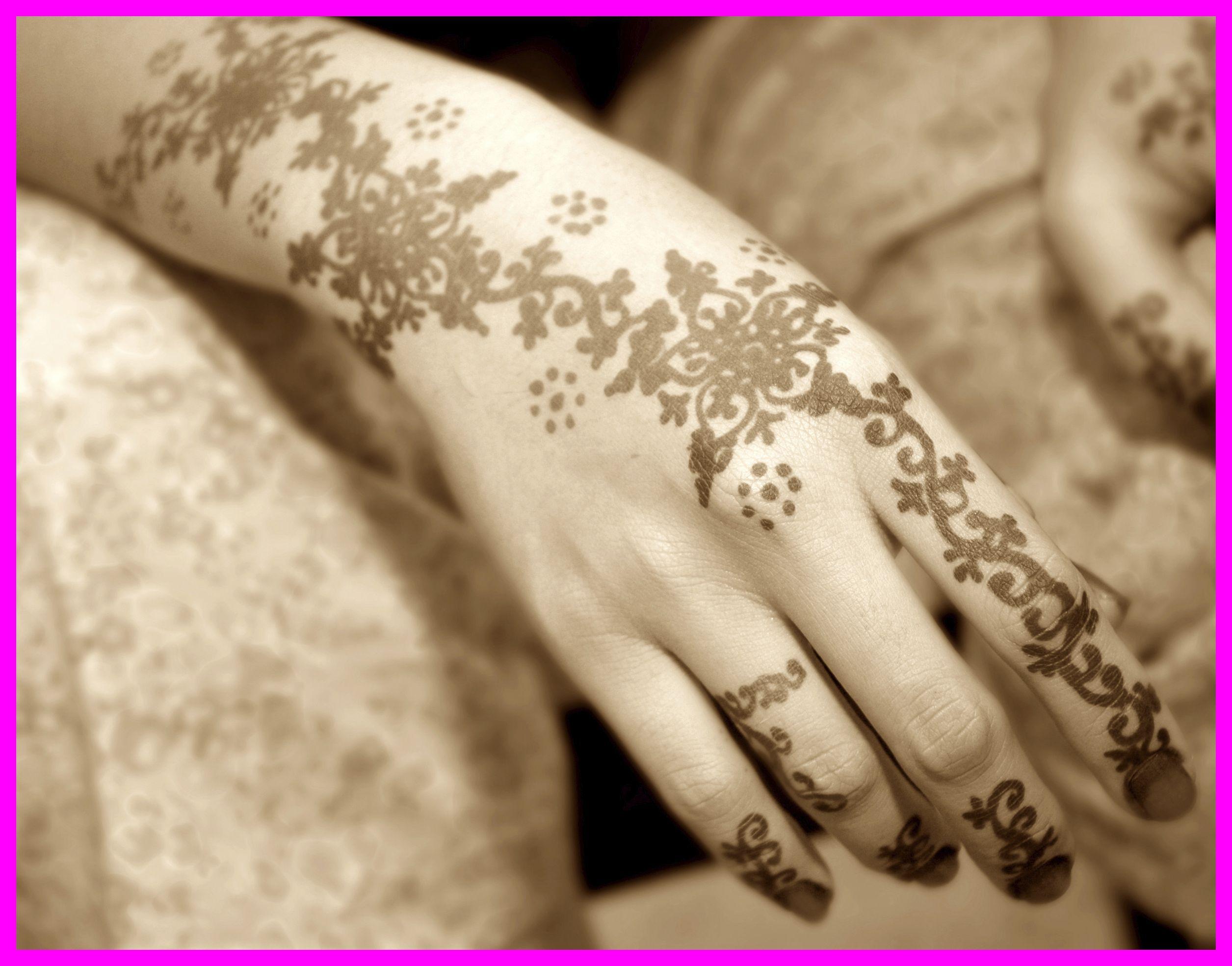 Mehndi Henna Pen : Henna mehndi tattoo kit cones fresh hand made pen