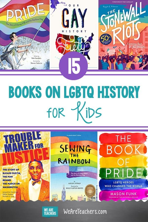Photo of 15 Books on LGBTQ History for Kids