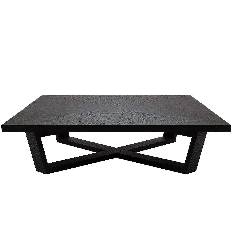 Best Brushed Black Oak Coffee Table Living Room Oak Coffee 400 x 300