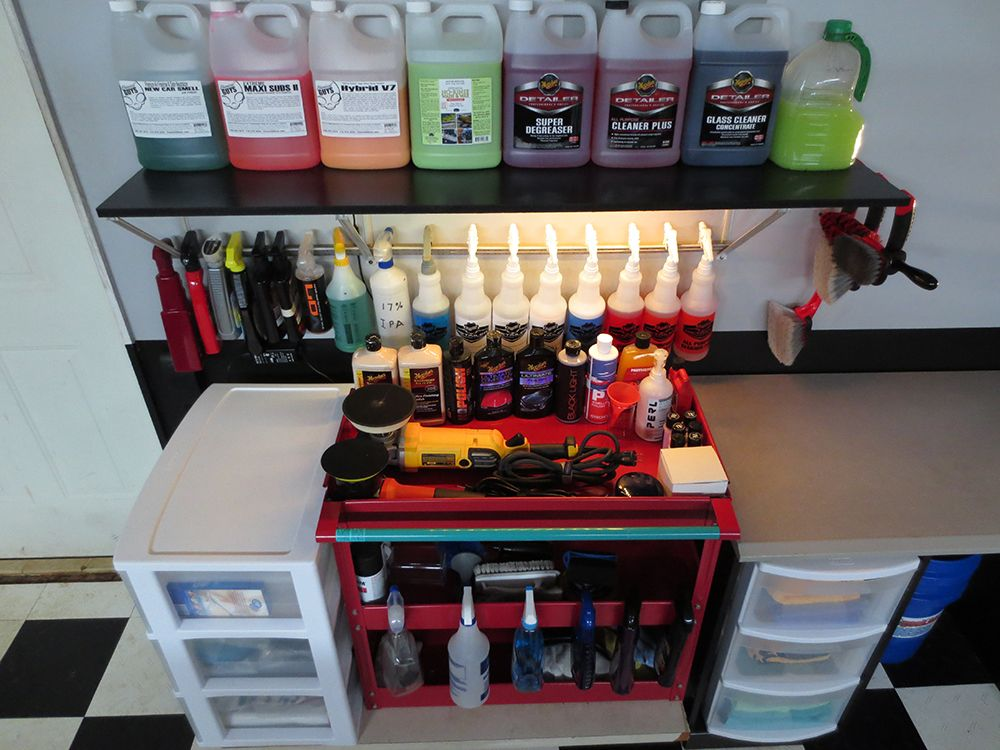 Car Wash Supplies Near Me >> How Do You Store Your Supplies Auto Geek Online Auto