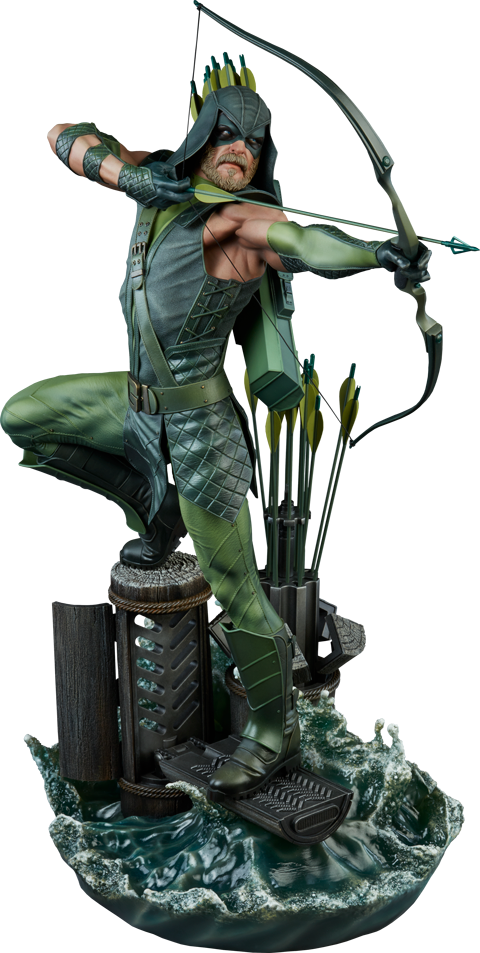 Dc Comics Green Arrow Premium Format Tm Figure By Sideshow Sideshow Collectibles W B Green Arrow Comics Green Arrow Arrow Comic