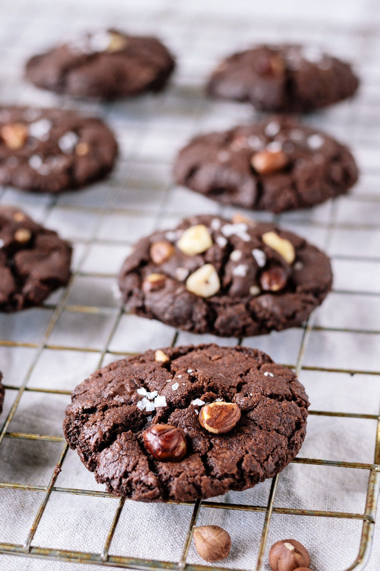 A Salted Double Chocolate Cookies Recipe Worth Blowing Your Summer DietFor