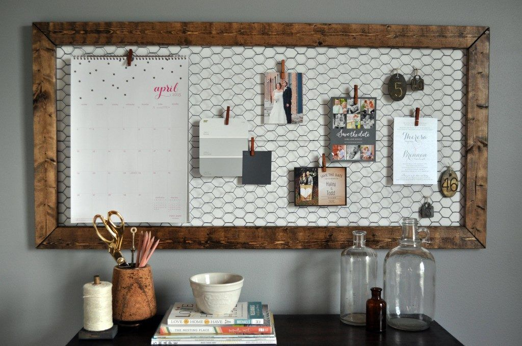 10 Diy Memo Boards For Your Home And Office Rustic Office Decor