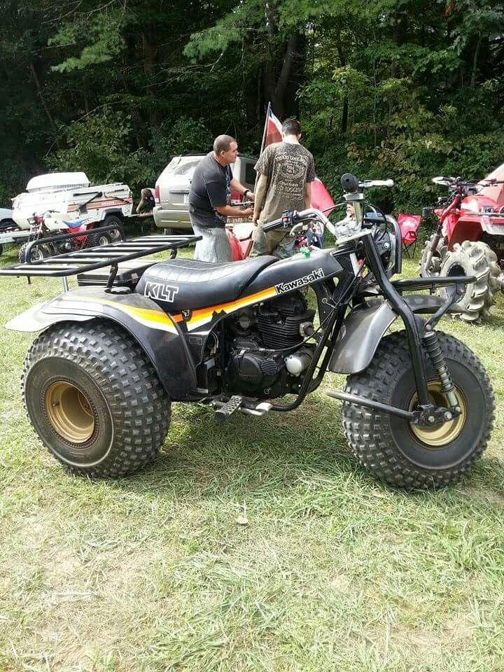3 Wheeler Kawasaki Klt 3 Wheelers Motorcycle Vehicles