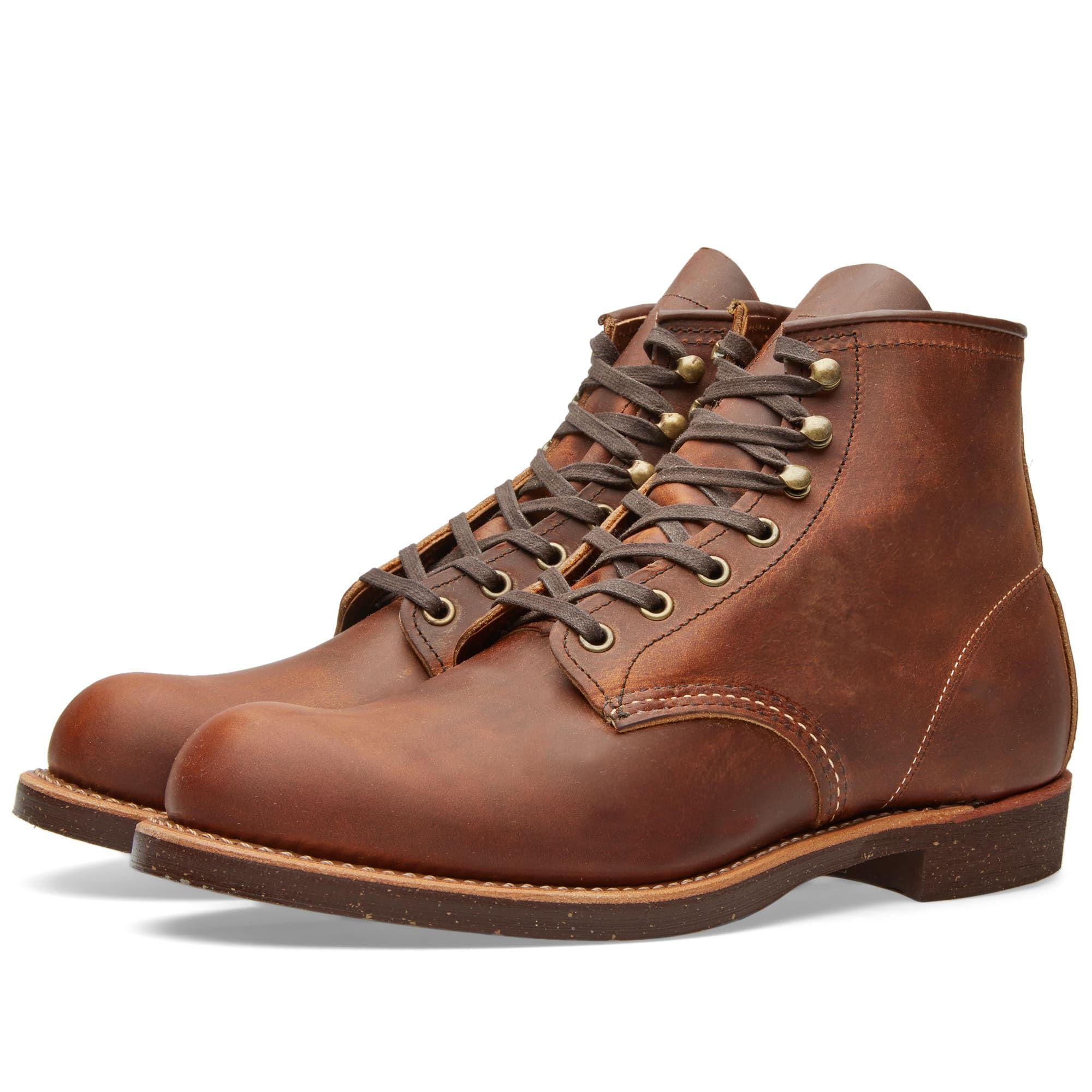 Zapatos marrones con cordones Red Wing para hombre SVV0j