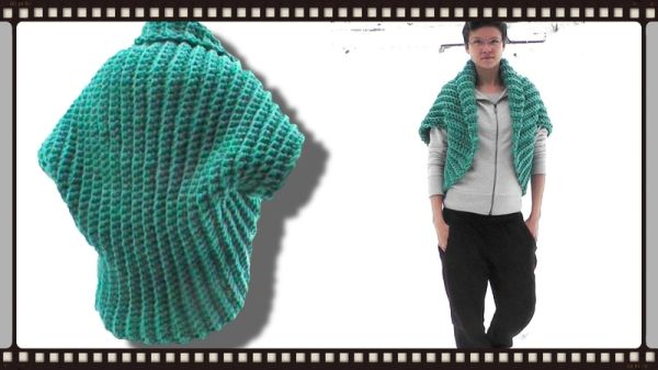 Shrug crochet pattern free video tutorial Woolpedia | Crafts ...