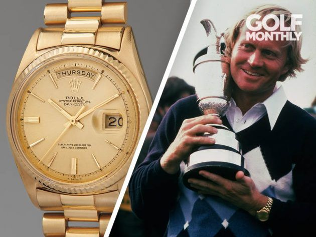 Jack Nicklaus Sells Rolex Watch For Over $1m - Golf Monthly #rolexwatches