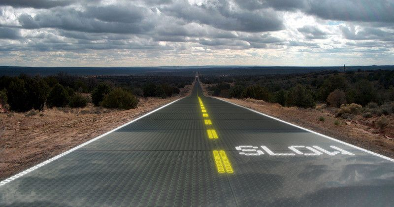 Solar Roads Roads Built Out Of Solar Panels Solar Solar Energy Solar Power