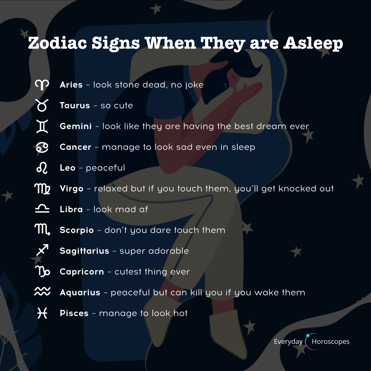 Zodiac Sleep Style Zodiac Signs Gemini Zodiac Signs Zodiac Signs Couples