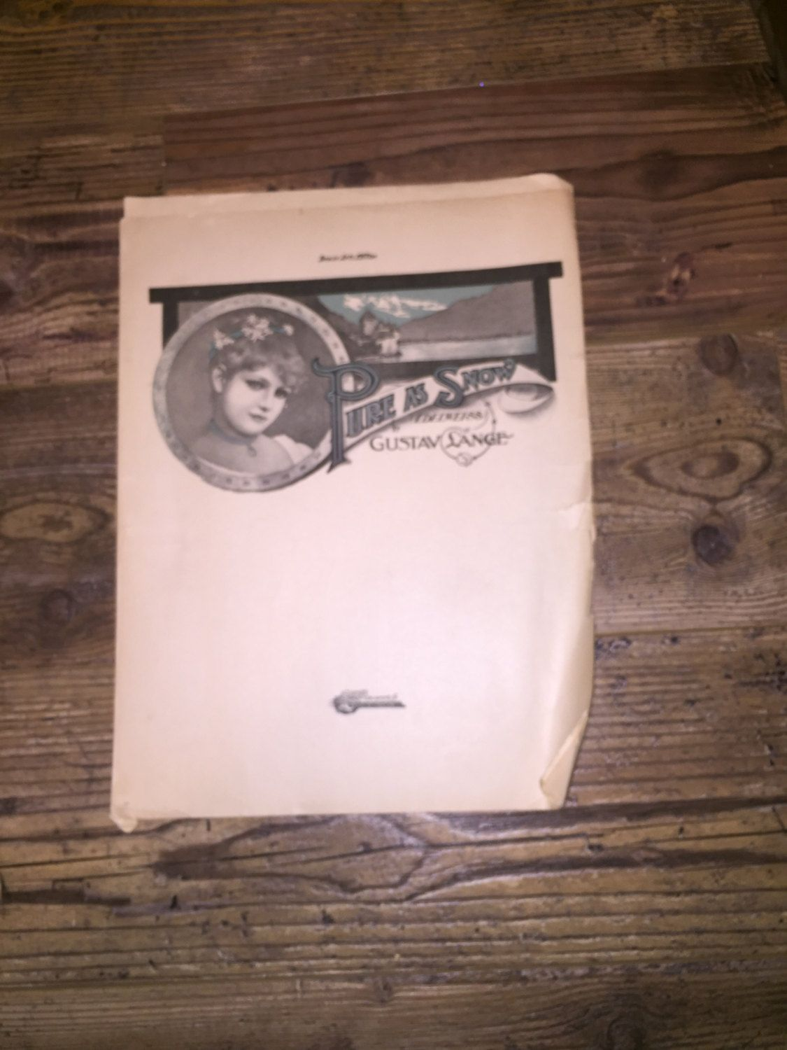 5 Turn of the Century Music Sheets