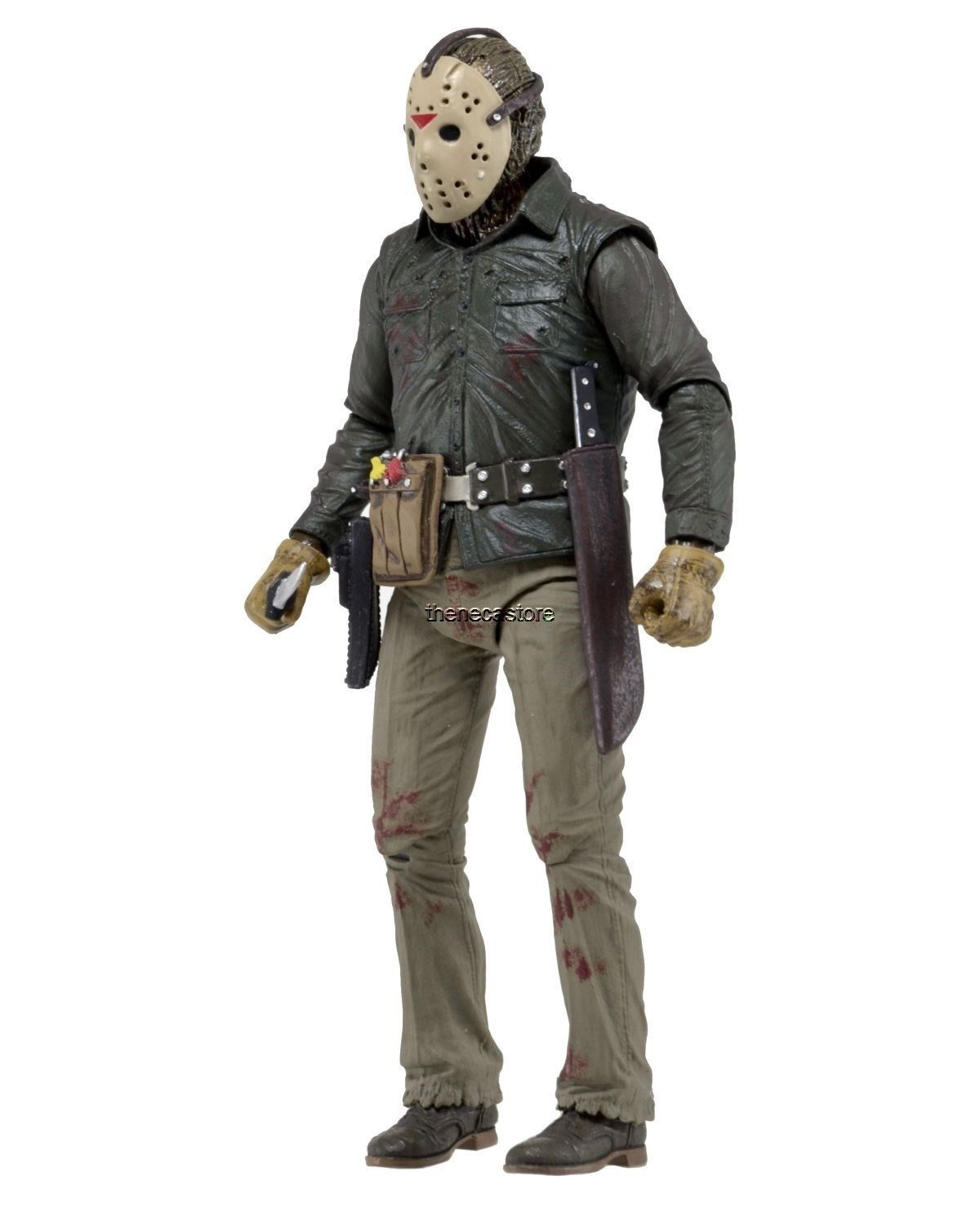 Friday The 13th 7 Scale Action Figure Ultimate Part 6 Jason Voorhees Neca Jason Toys Jason Part 7 Neca