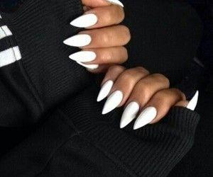 Pinterest Cosmicislander Acrylic Nails Stiletto White Acrylic Nails White Stiletto Nails