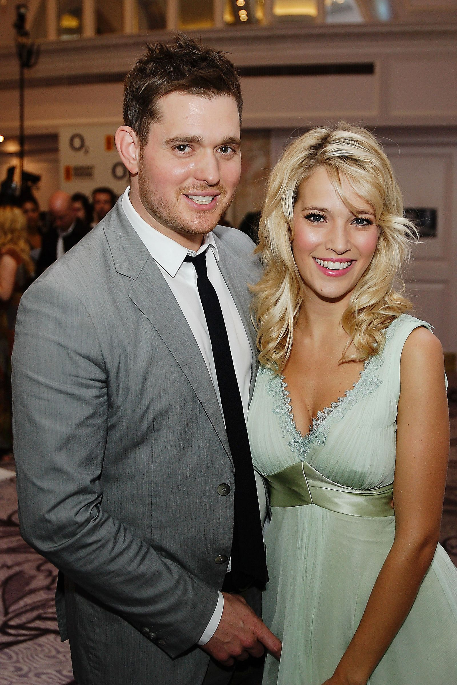 michael buble and luisana