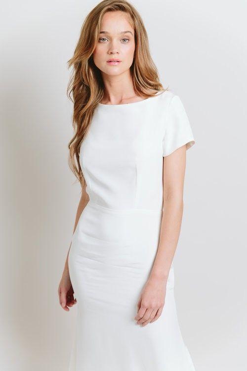 Casual Chic 50 Less Formal Minimalist Wedding Gowns Wedding