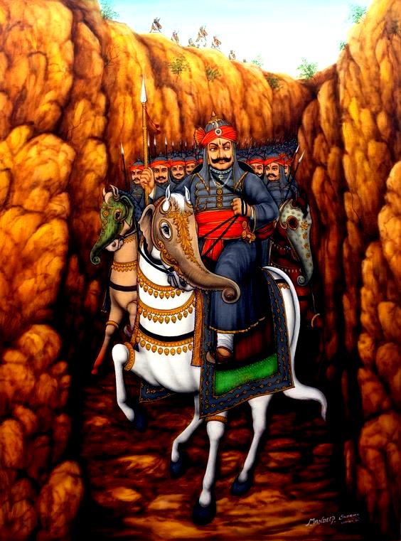 Maharana Pratap History In Hindi In 2020 Indian History Ancient Indian History History
