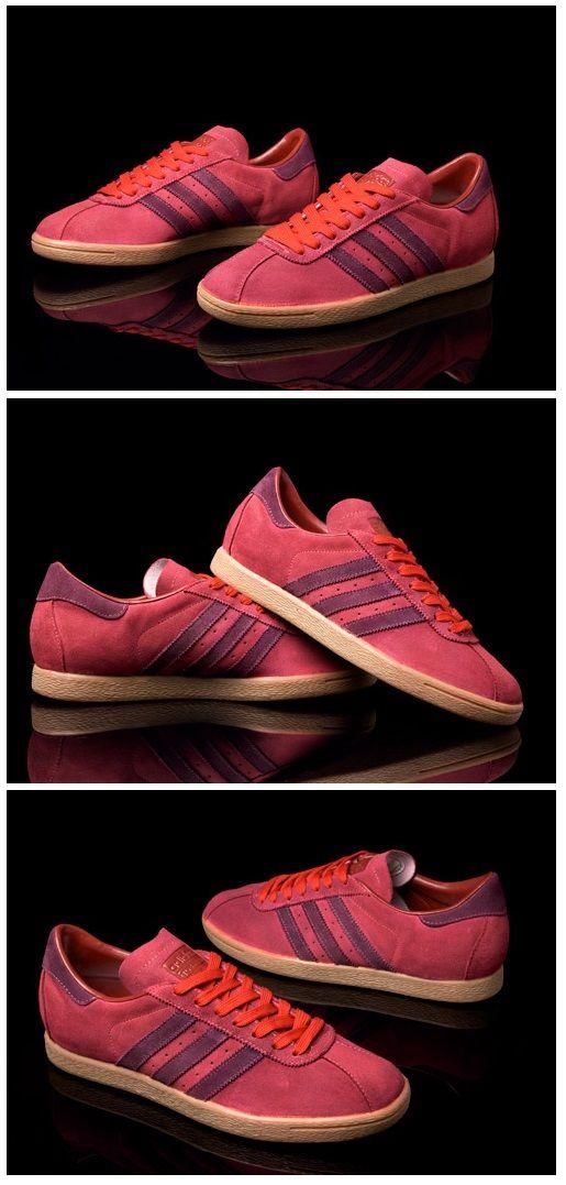 Adidas Originals del tabaco (John Schofield custom) los pies felices