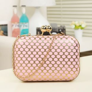 NEW Knuckle box Vintage Evening Party Chain Clutch/purse/bag