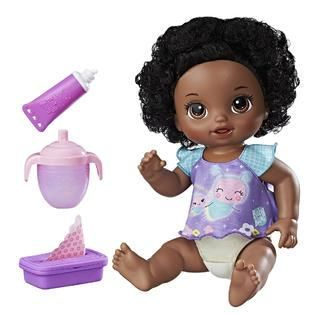 African American Baby Alive Interactive Talking English Spanish Baby Doll Twinkles And Tinkles Baby Alive Baby Alive Dolls African American Babies