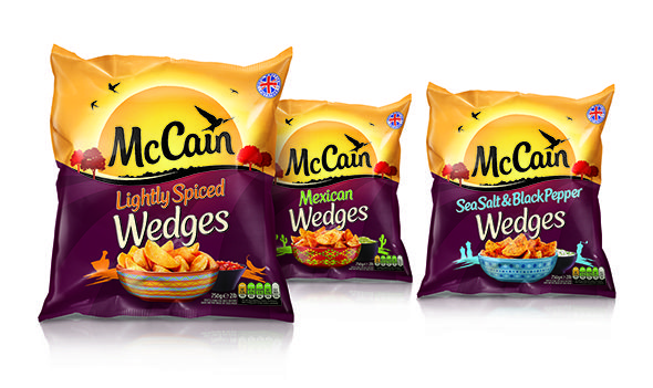 McCain New Identity | snack | Packaging snack, Packaging