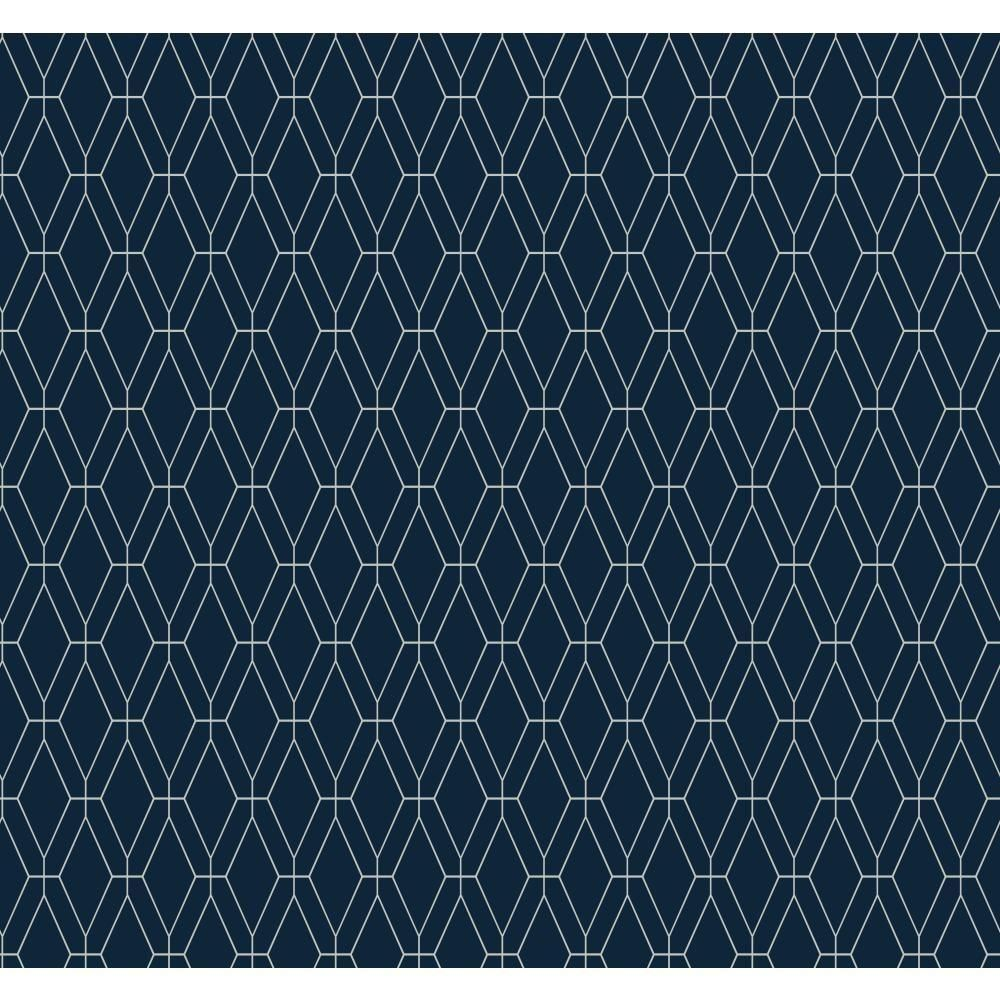 York Wallcoverings Ashford Geometrics Diamond Lattice