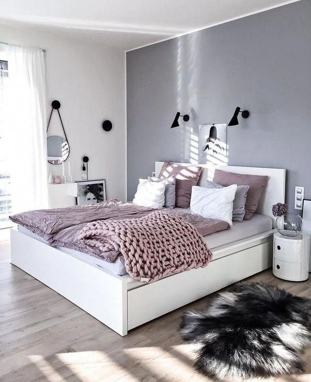 20 Minimalist Grey Teenage Girl Bedroom Design And Decor Ideas
