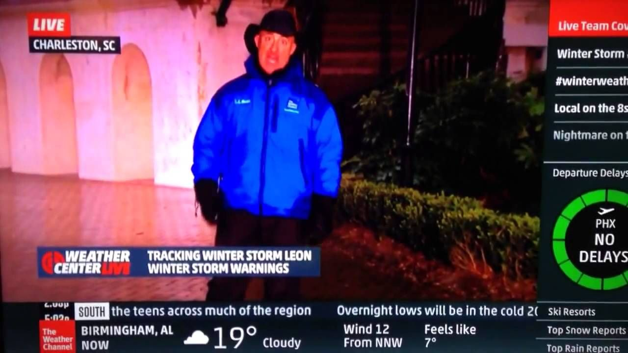 Jim Cantore Gets