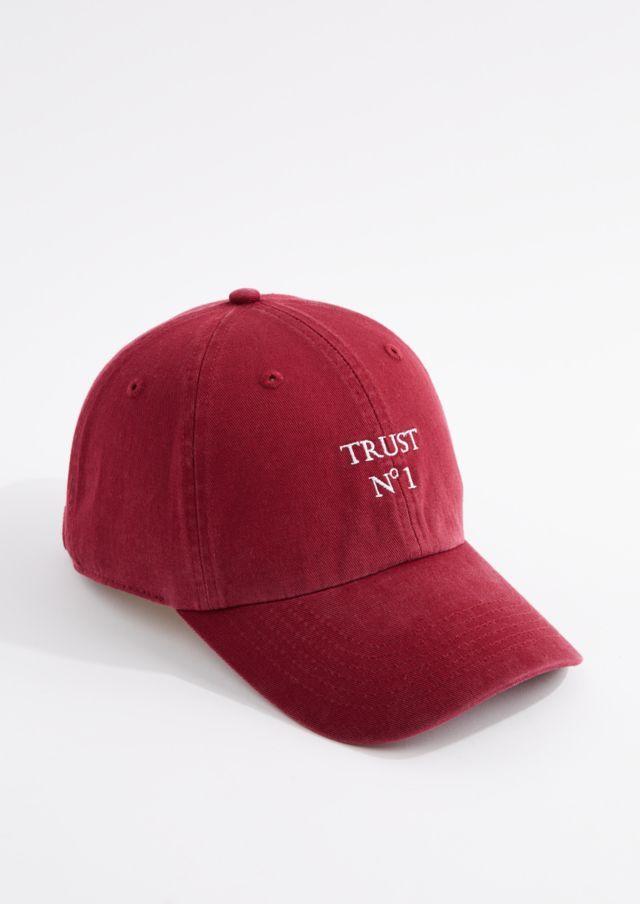 97894274205 image of Burgundy Trust No 1 Dad Hat | Hats | Hats, Dad hats ...