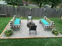 Photo of 01 Easy and Cheap Fire Pit and Backyard Landscaping Ideas – spaciroom.com