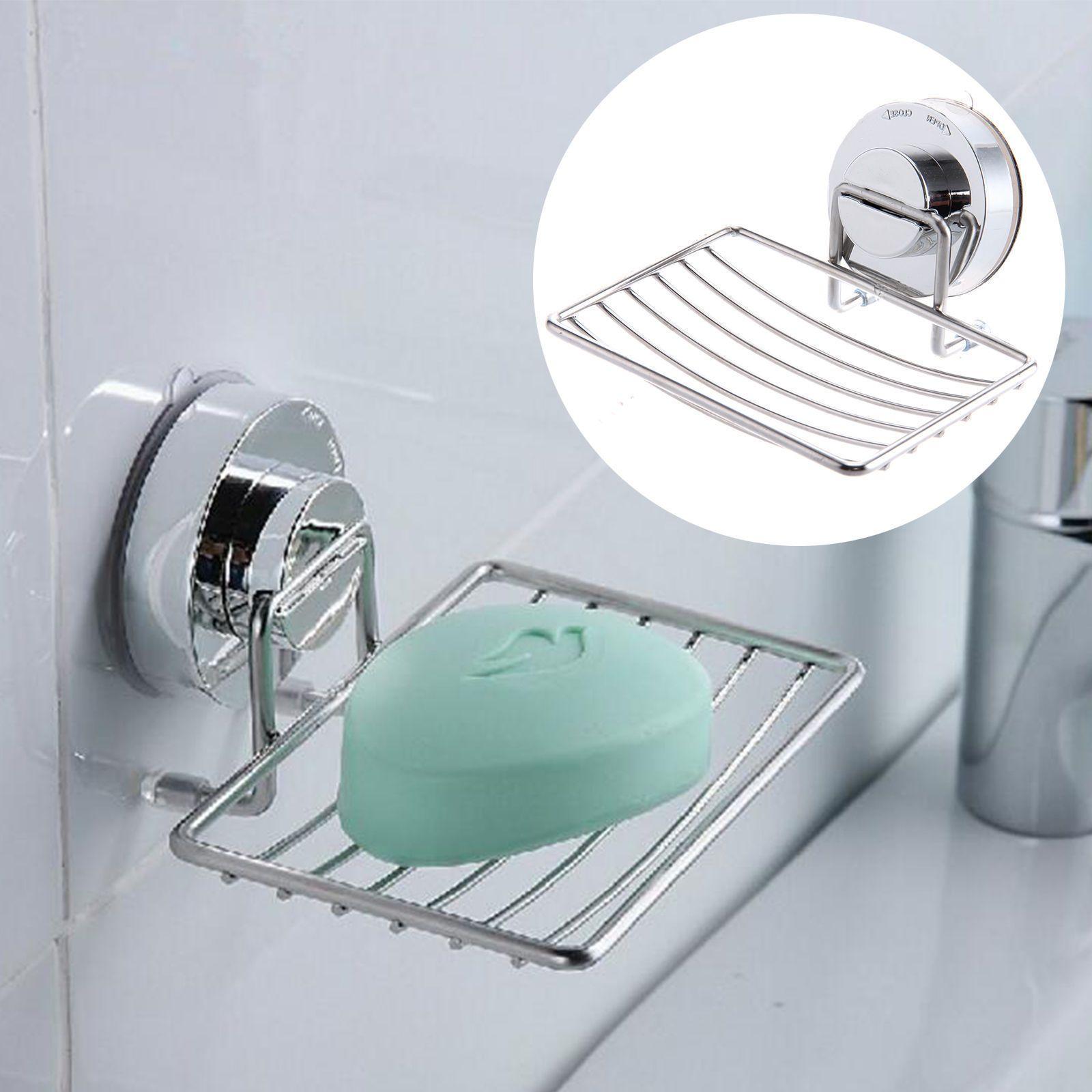 7.99AUD - Sink Soap Dispenser Tray Dish Holder Suction Shower ...