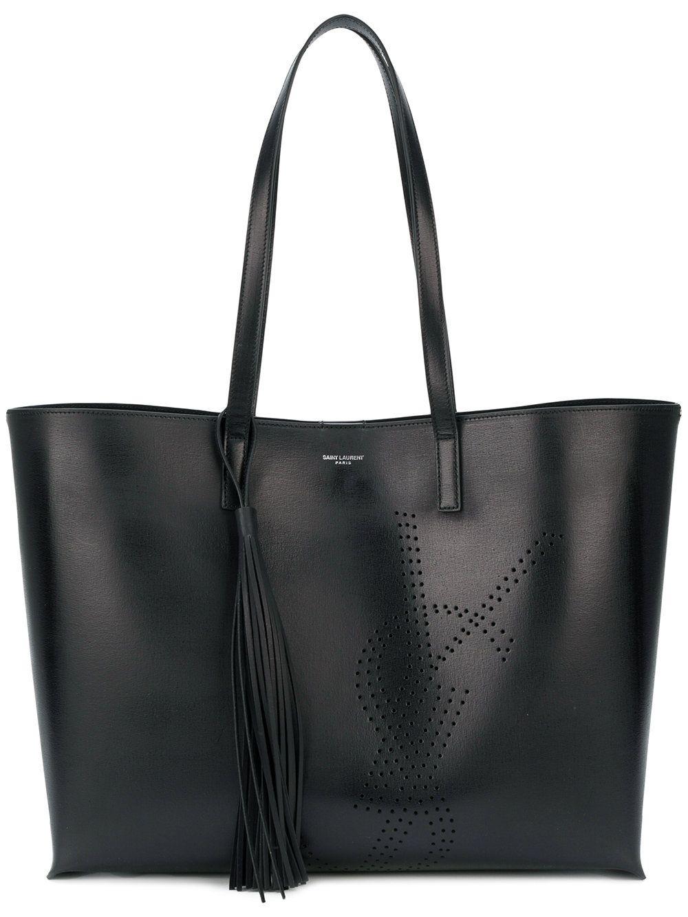 1883f80972a SAINT LAURENT . #saintlaurent #bags #leather #hand bags #tote ...