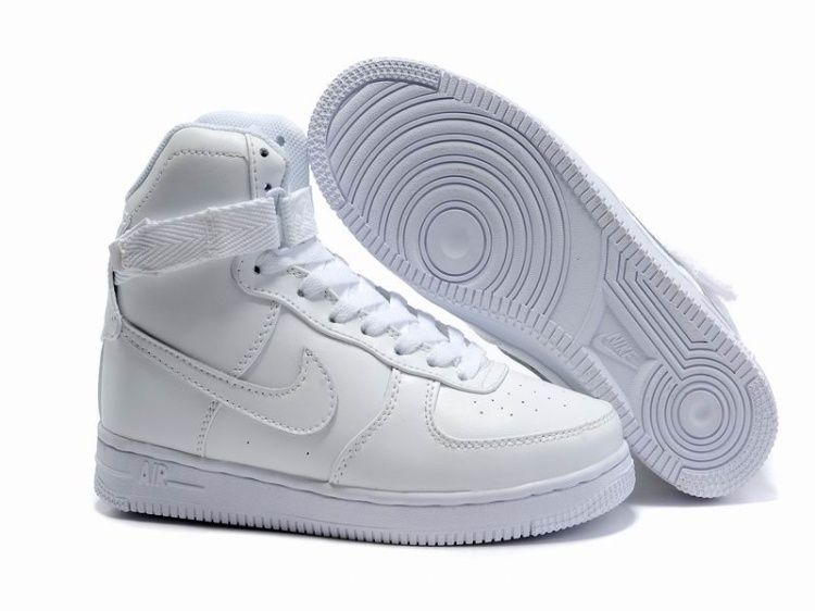 Nike Air Force 1 High Tops Girls Kellogg Community College