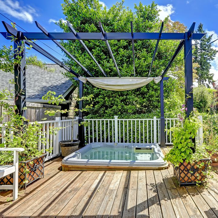 DIY Pergola Cover Ideas: 7 Ways To Protect Your Patio From ... on Patio Cover Ideas For Rain id=15881