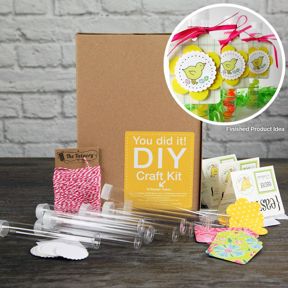 SRM Press Inc. Easter Tubes DIY Craft Kit