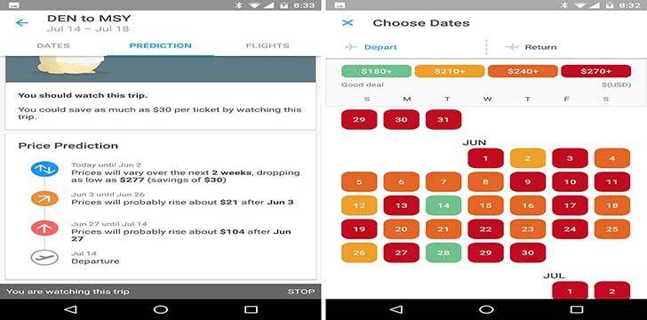 Hopper App Book cheap flights, App, Houzz