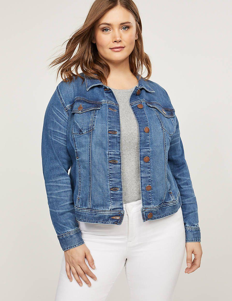 Default Cacique Plus Size Workwear Denim Jacket Plus Size [ 1248 x 960 Pixel ]