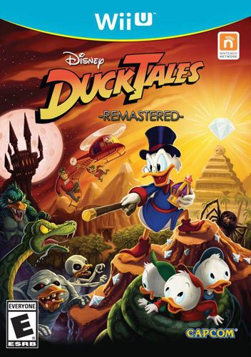 Ducktales Remastered E Wii U Wii Games Xbox Disney Ducktales