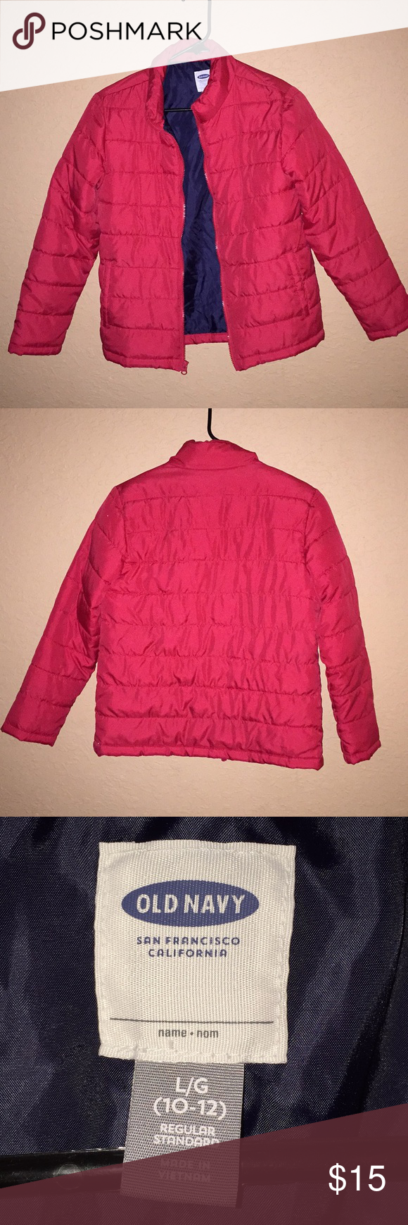 b35deaf17 Kids Puffed Jacket Size 10-12 Worn once My twin boys outgrew jacket Fl just  doesn't get that cold Old Navy Jackets & Coats Puffers