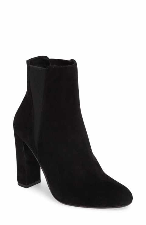 322b67220855 Steve Madden Effect Block Heel Bootie (Women)