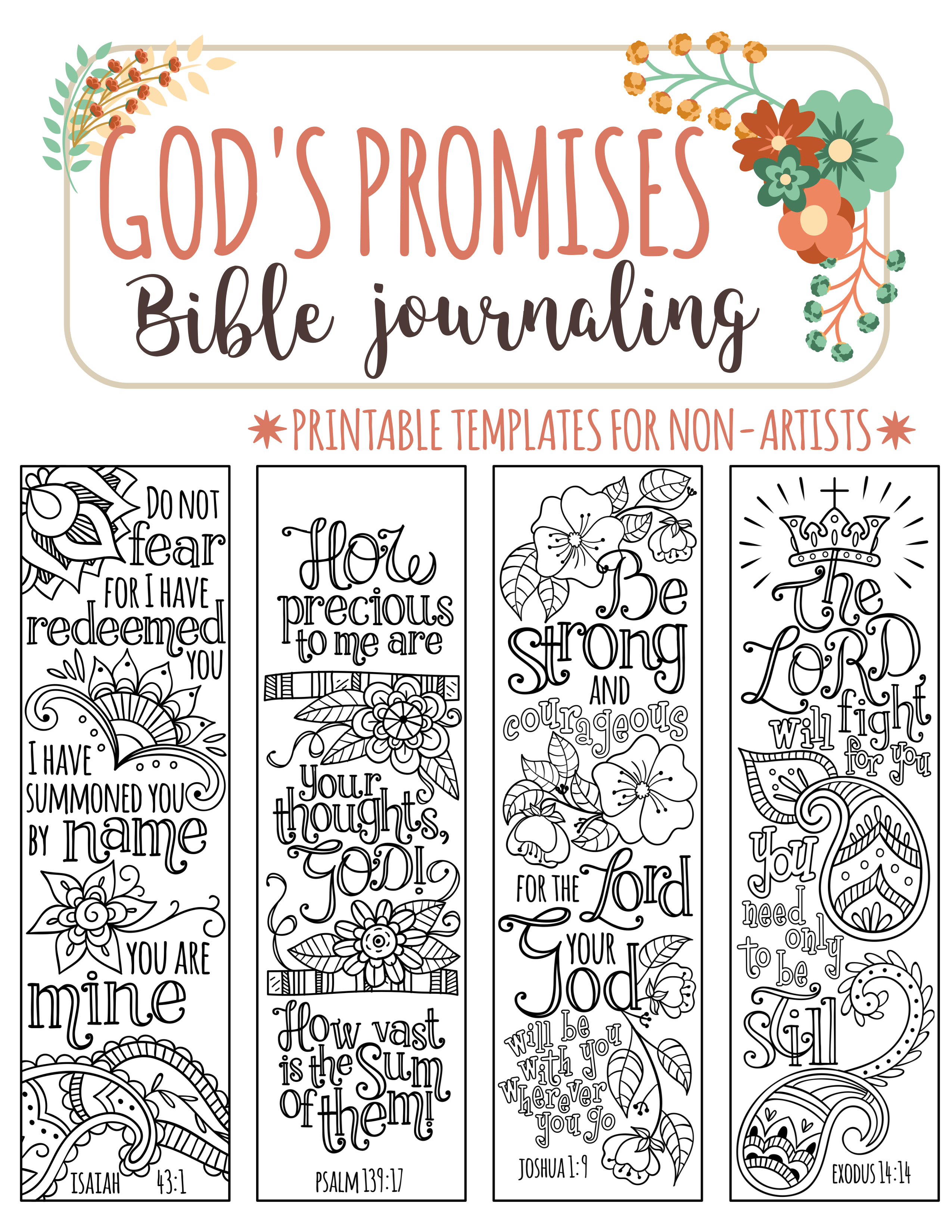 Pin On Templates For Bible Journaling
