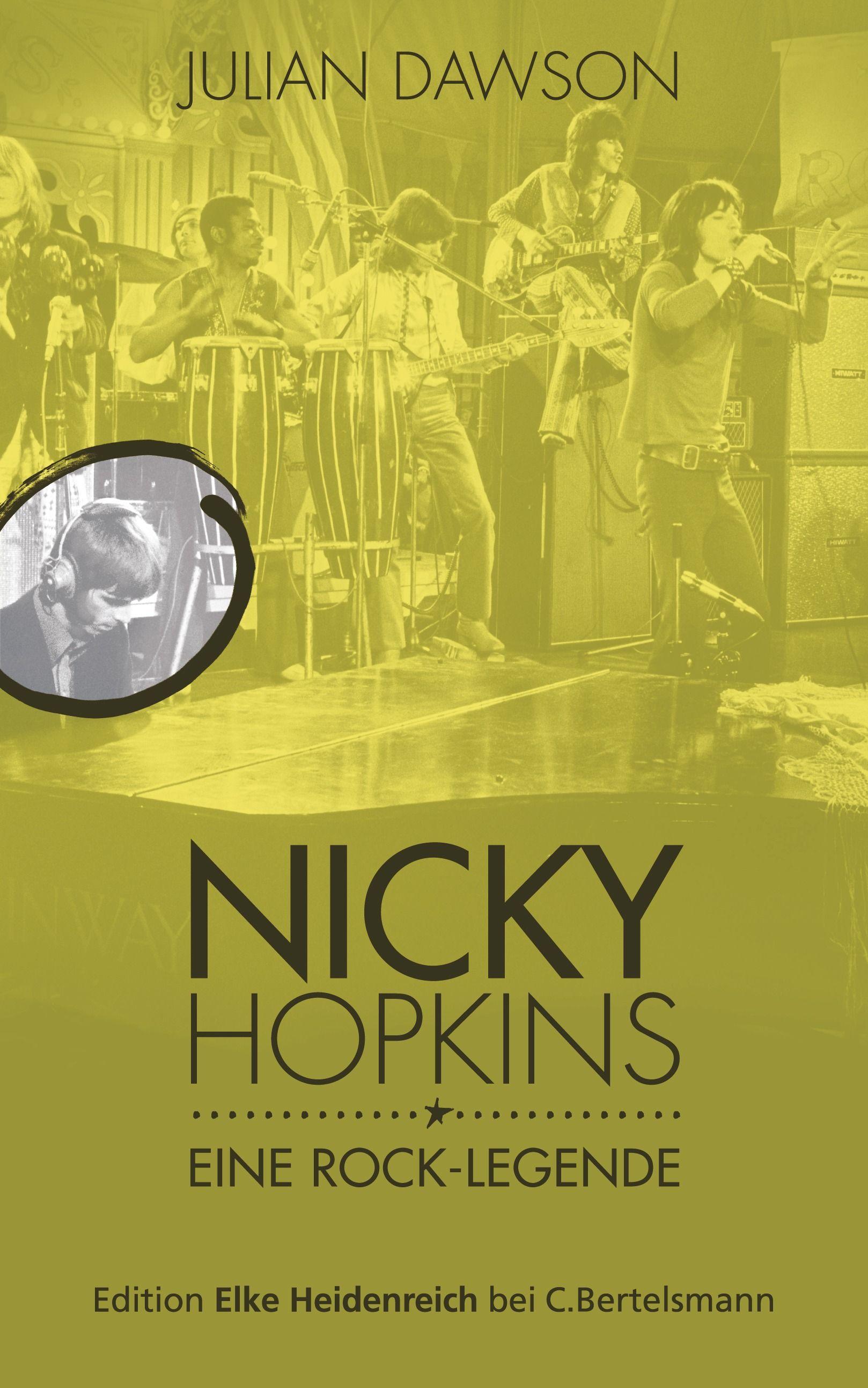 """""""Der """"Sideman"""""""": Eine Buchempfehlung von Eva Hepper zum Buch """"Nicky Hopkins"""" von Julian Dawson von C. Bertelsmann!"""