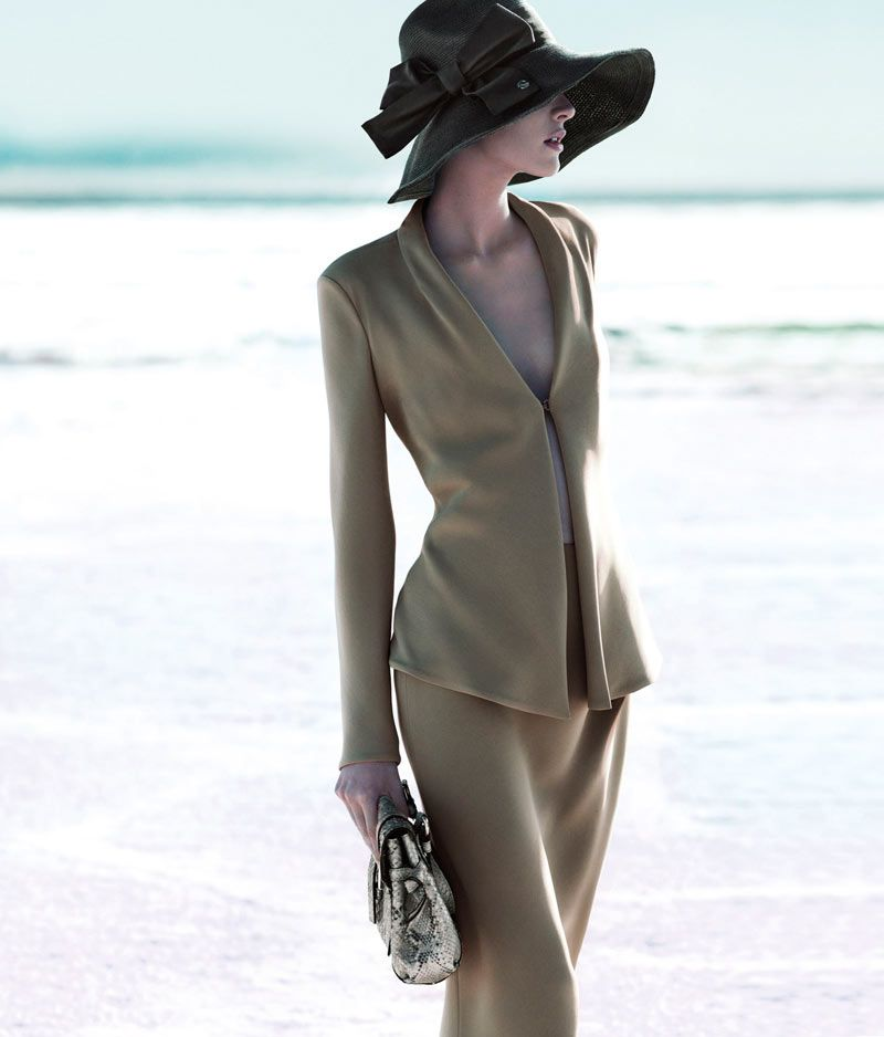 Milou van Groesen for Giorgio Armani Spring 2012 Campaign by Mert & Marcus