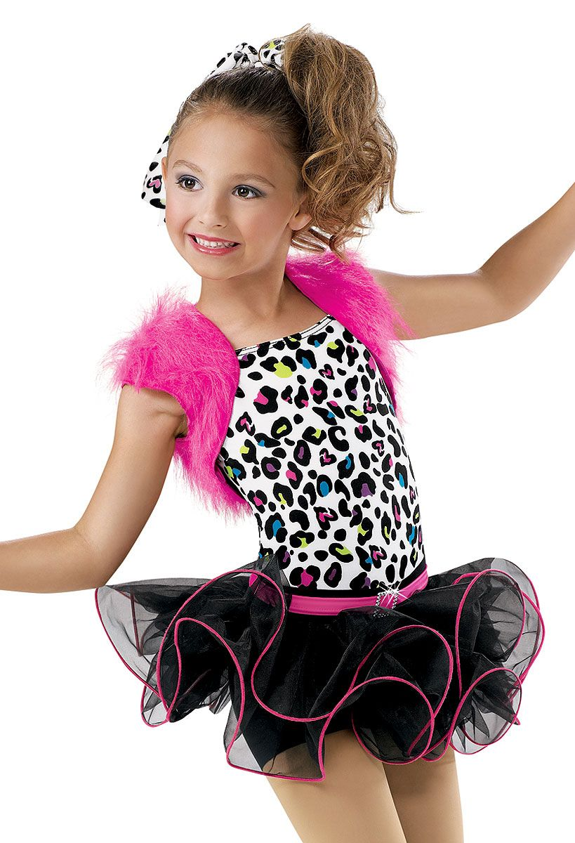 Girls Animal Print Dress Weissman Costumes Dance Costume